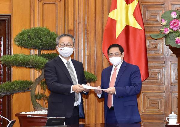 Nhật Bản hỗ trợ Việt Nam 1 triệu liều vắc xin phòng chống COVID 19